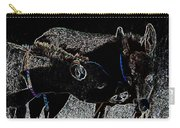 Playing Burros Carry-all Pouch