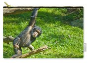 Playing Chimp Carry-all Pouch