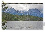 Playing In Colter Bay In Grand Teton National Park-wyoming Carry-all Pouch