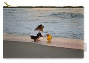 Playing In The Ocean Carry-all Pouch