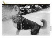 Playing In The Snow Carry-all Pouch by Carol Groenen