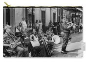 Playing Jazz On Royal Street Nola Carry-all Pouch