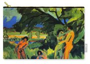 Playing Nudes Under Trees Carry-all Pouch