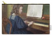 Playing The Piano Carry-all Pouch