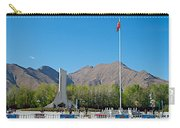 Plaza Across From Potala Palace Which Replaced A Natural Lake-tibet Carry-all Pouch