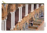 Plaza De Espana Colonnade In Seville Carry-all Pouch