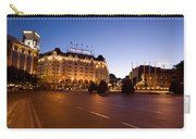 Plaza De Neptuno And Palace Hotel Carry-all Pouch