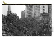 Plaza Hotel From Central Park Carry-all Pouch