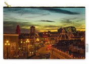 Plaza Lights At Sunset Carry-all Pouch