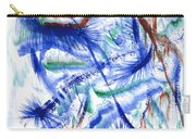 Plume Bleues Carry-all Pouch