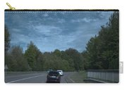 Pleasure Drive Paris Roads Tree Line And Wonderful Skyview Carry-all Pouch