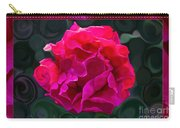 Plentiful Supplies Of Pink Peony Petals Abstract Carry-all Pouch