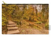 Plessey Woods Trail Over Footbridge Carry-all Pouch