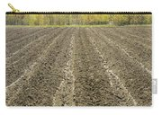 Plowed Spring Farmland Ready For Planting In Maine Carry-all Pouch