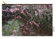 Plum Blossom In The Snow Carry-all Pouch