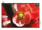 Plum Branch Carry-all Pouch