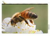 Plum Full Of Bees Carry-all Pouch
