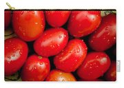 Plum Tomatoes Carry-all Pouch