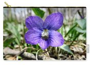 Plumb Wildflowers Carry-all Pouch