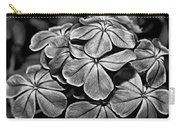 Plumbago In Gray Carry-all Pouch