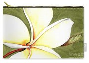 Plumeria Flower Carry-all Pouch