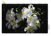 Plumeria Glow Carry-all Pouch