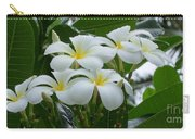 Plumeria In The Rain Carry-all Pouch
