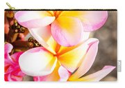 Plumerias Of Paradise 4 Carry-all Pouch