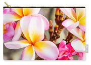 Plumerias Of Paradise 5 Carry-all Pouch