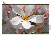 Plumerias Under A Blue Sky Carry-all Pouch