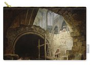 Plundering The Royal Vaults At St. Denis In October 1793 Oil On Canvas Carry-all Pouch