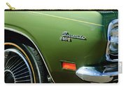 Plymouth Barracuda 340-s Emblem Carry-all Pouch