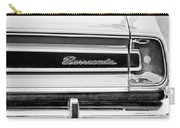 Plymouth Barracuda Taillight Emblem -0711bw Carry-all Pouch