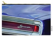 Plymouth Barracuda Taillight Emblem Carry-all Pouch