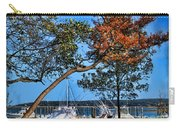 Plymouth Harbor In Autumn Carry-all Pouch