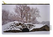 Plymouth Meeting Lime Kilns In The Snow Carry-all Pouch