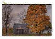 Plymouth Notch Barn In The Fall Carry-all Pouch