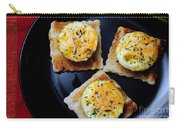 Poached Eggs On A Raft Carry-all Pouch by Andee Design
