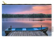 Poconos Lake Whitney Sunset Rowboat Carry-all Pouch