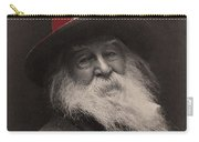 Poet Walt Whitman George Collins Cox Photo 1887-2010 Carry-all Pouch