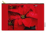 Poinsettia # 2 Carry-all Pouch