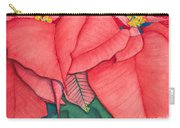 Poinsettia Carry-all Pouch