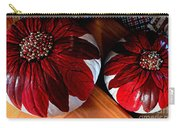 Poinsettias - Handmade - Crafts - Pumpkins Carry-all Pouch