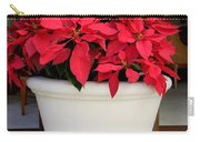 Poinsettias In A Planter Carry-all Pouch