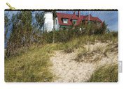 Point Betsie Lighthouse On Lake Michigan Carry-all Pouch