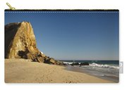 Point Dume At Zuma Beach Carry-all Pouch by Adam Romanowicz