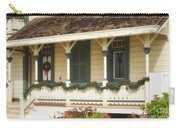 Point Fermin Lighthouse Christmas Porch Carry-all Pouch