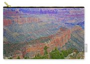 Point Imperial On North Rim Of Grand Canyon National Park-arizona   Carry-all Pouch