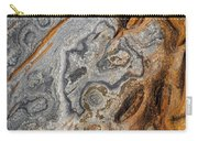 Point Lobos Abstract 4 Carry-all Pouch