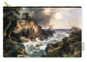 Point Lobos Monterey California Carry-all Pouch by Thomas Moran